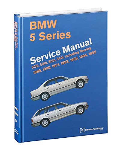 bmw 5 series e34 service manual 1989 1990 1991 1992 1993 rh amazon com 1995 BMW 525I Custom 1991 BMW 525I Interior