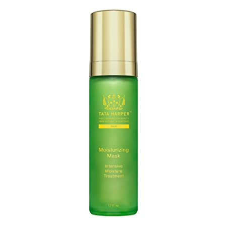 Tata Harper Moisturizing Mask 100 Natural Nontoxic Rich, Overnight Moisture Treatment 1.7oz
