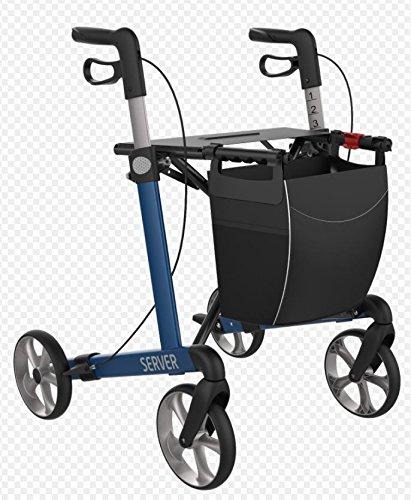 adhome - srebl600 - Andador ligero plegable azul eléctrico ...
