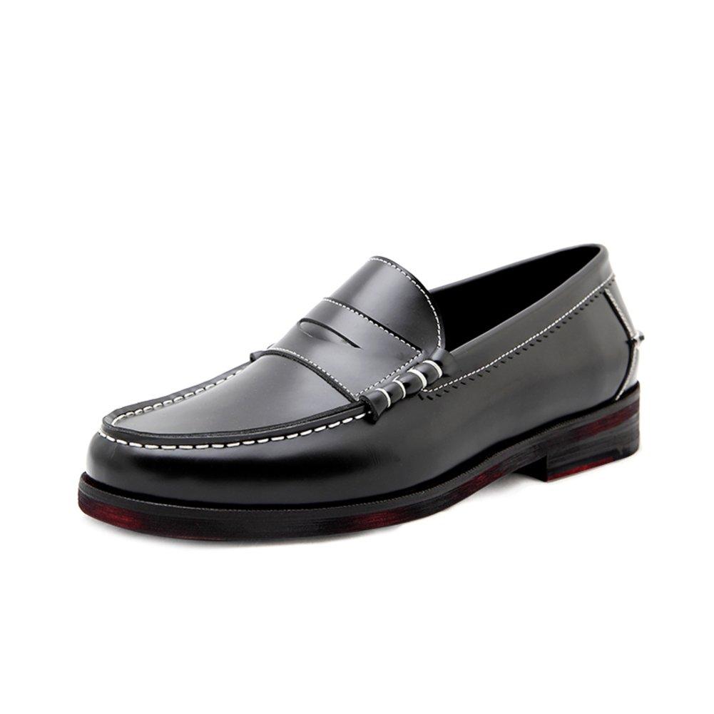 Business casual Schuhe Herren Leder Trend der koreanischen Version von Lok Fu Fuß setzt Schuhe