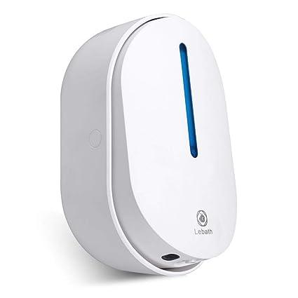 lebath automático dispensador de jabón, dispensador de Sensor de infrarrojos, batería, resistente al