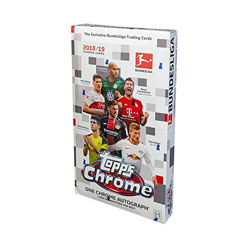 (2019 Topps Chrome Bundesliga Soccer Hobby Box)