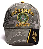 United States Army Retired Shadow Adjustable Cap -...