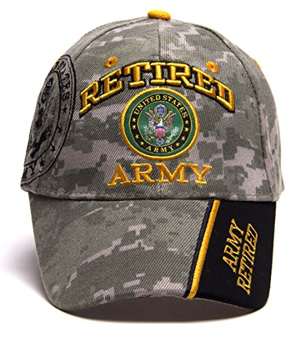 - United States Army Retired Shadow Adjustable Cap - Digi Camo