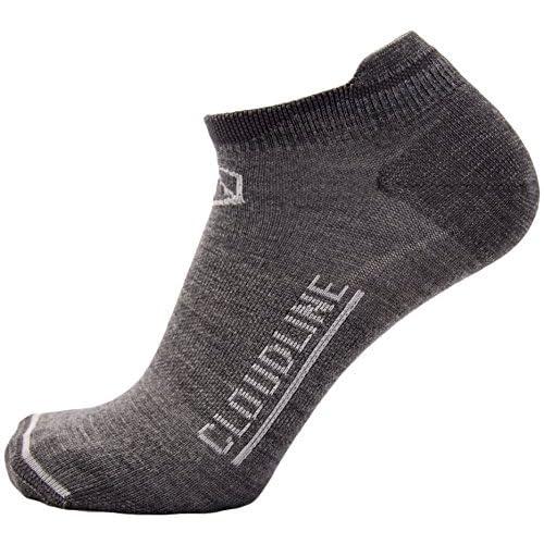 Cheap CloudLine Merino Wool Athletic Tab Ankle Running Socks Ultra Light - for Men & Women