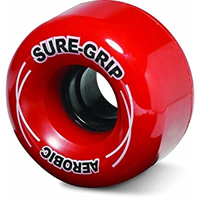 Sure-Grip Outdoor Aerobic Wheel - red : Sports & Outdoors