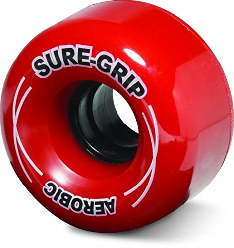 Sure-Grip Outdoor Aerobic Wheel - red