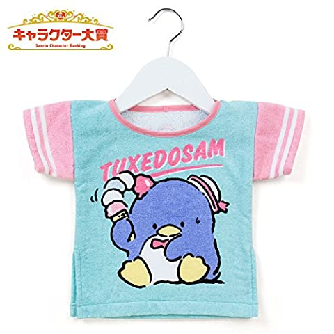 Sanrio tuxedo Sam T-shirt-shaped towel Sanrio Character Ranking 2017 From Japan New (Dbz Character Guide)