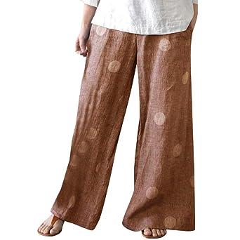 Roiper_ - Pantalones de Mujer con Estampado Floral para ...