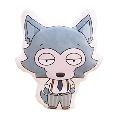 MEIBRI Anime Beastars Animal Stuffed Cute Doll Pillow Cushion Body Legoshi 34cm41cm: Home & Kitchen