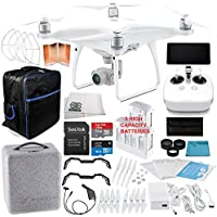 DJI Phantom 4 Advanced+ Quadcopter EVERYTHING YOU NEED Ultimate Bundle