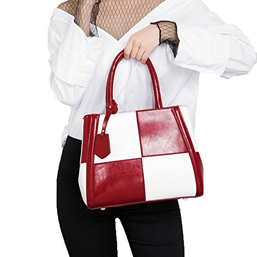 Leather Handbag Europe Autumn New Shoulder Bag Bag Collar United States Women Struggle Winter And 2018 And The Fashion Yellow Colored Laptop White Lady HOwY5