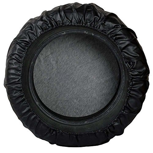 AUTOKAY 16'' Black Spare Wheel Tire Cover Soft Cover 30-31'' fits Jeep Liberty by AUTOKAY (Image #1)