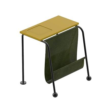 mesa plegable Chunlan Mesa de Centro pequeña Auxiliar de ...