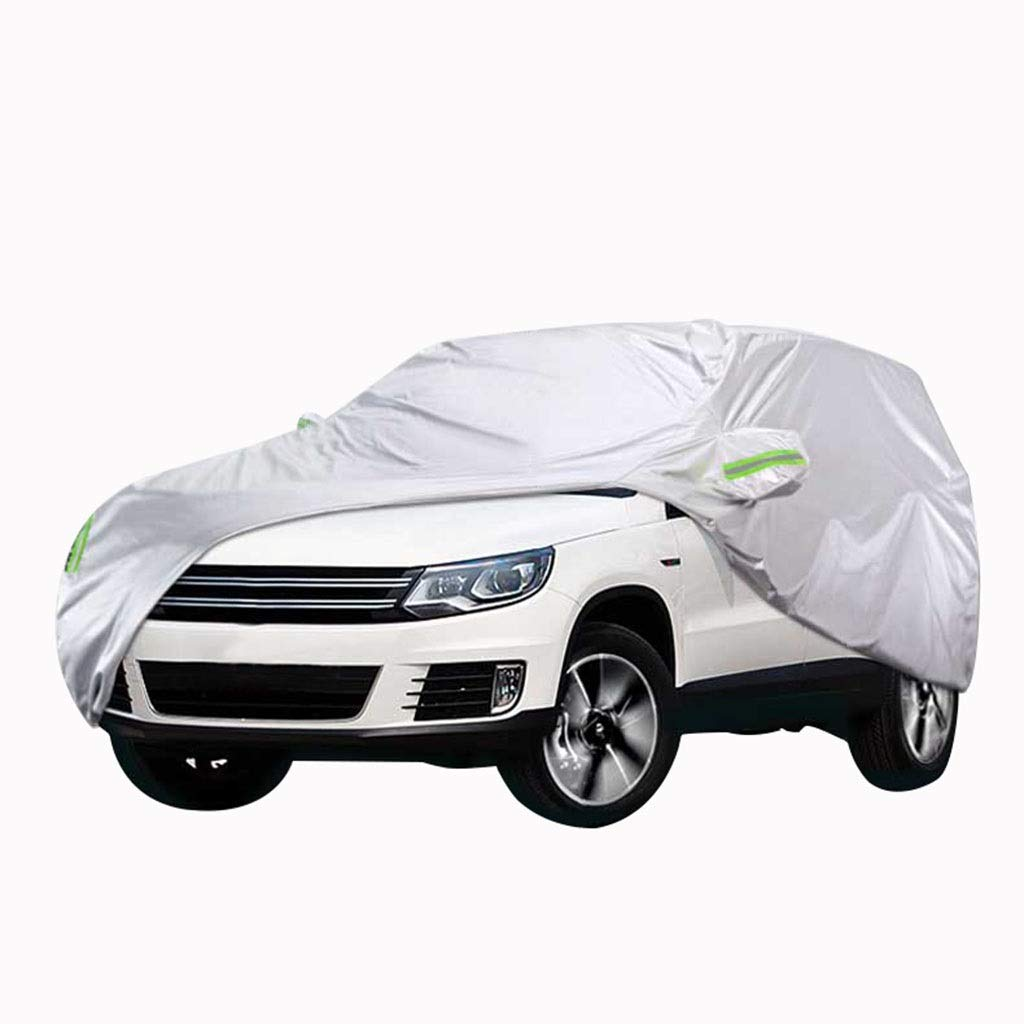 LCLchezhao Compatible with Ford Edge Car Cover Thickening Sunscreen Rain and Snow Anti-Scratch Scratch-Resistant Multi-Function Car Cover Clothing Four Seasons Universal Years : 2015