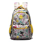 Mlife Sweet Backpack For Children Girls Schoolbag Travel Daypack (GREY)