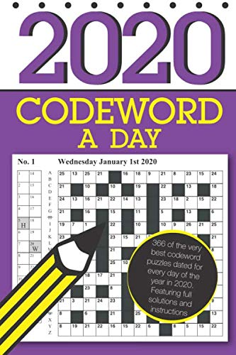 Codeword a Day 2020: 366 dated codeword puzzles