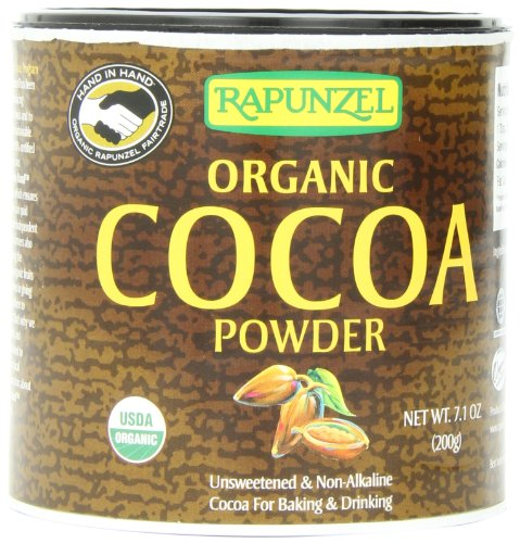 Rapunzel Pure Organic Cocoa Powder, 7.1-Ounce Packages (P...