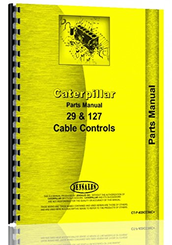 Caterpillar D9 Crawler   29 Cable Control Attachment Parts Manual