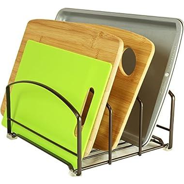 DecoBros Kitchen Houseware Organizer Pantry Rack, Bronze