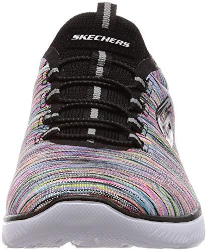 Light Multi Skechers Summits Sneaker Women's Black Sport Dreaming wwTZB