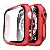 Tauri 2 Pack Case Built-in Tempered Glass Screen