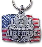 US Air Force Flag Pendant Keychain