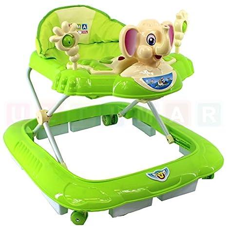 Andador ELEFANTE Verde Baby Walker: Amazon.es: Bebé