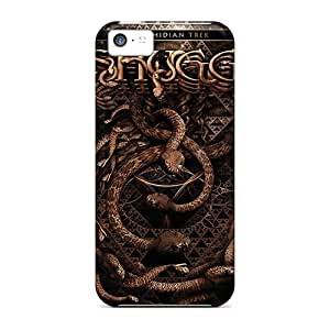 Bumper Hard Cell-phone Case For Iphone 5c With Unique Design Trendy Korn Band Pictures SherriFakhry