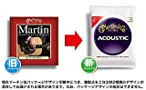 Martin M1100 Marquis 80/20 Bronze Acoustic Strings, Light
