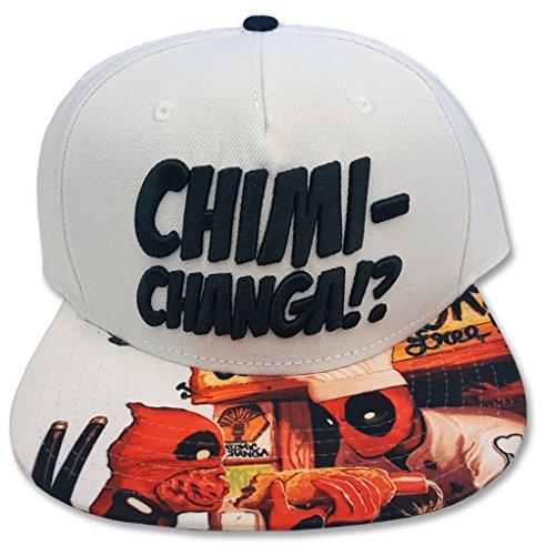 Marvel Deadpool Chimi Changa Snapback Hat -