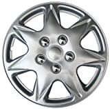 "Drive Accessories KT915-17S/L ABS Silver 17"" Plastic Wheel Cover Hubcap - Pack of"