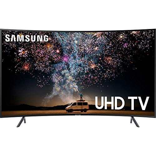 Samsung UN65RU7300FXZA Curved 65-Inch 4K UHD 7 Series Ultra HD Smart TV with HDR and Alexa Compatibility (2019 Model) (Led 65 Lcd Samsung Tv)