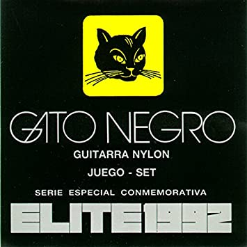 Juego de cuerdas Gato Negro Elite 1992 para guitarra clásica.