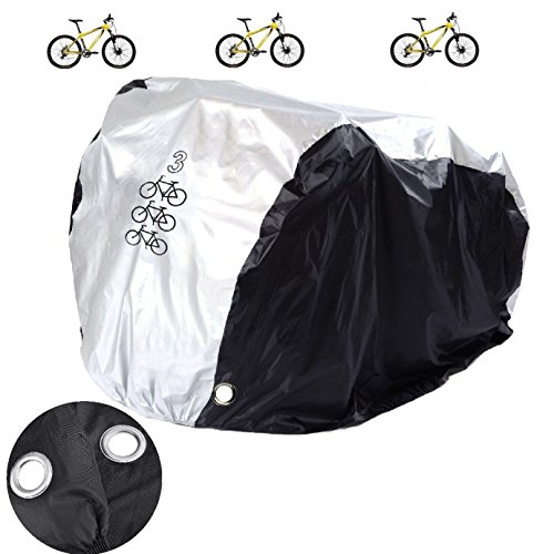 Aiskaer Nylon Waterproof Bicycle Cover Outdoor Rain Protecto