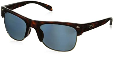 f7c48e825f8 Costa Del Mar Pawleys Polarized Oval Sunglasses Retro Tortoise 56.2 mm