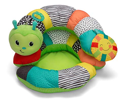 (Infantino Prop-A-Pillar Tummy Time & Seated Support )
