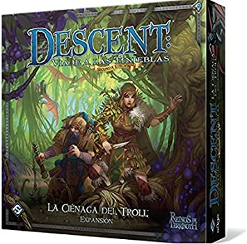 Descent 2nd Edition The Trollfens Boars Game Expansion (Edge ...