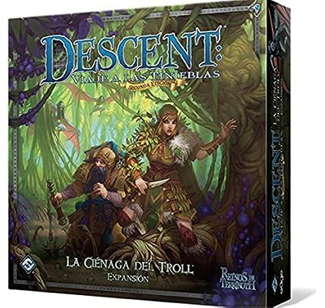 Descent 2nd Edition The Trollfens Boars Game Expansion (Edge Entertainment DJ05): Amazon.es: Juguetes y juegos