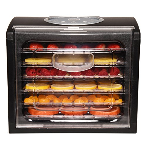 Ivation 6 Tray Electric 480w for Jerky, Nuts