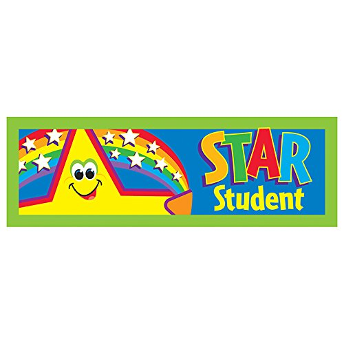 Trend Enterprises Inc. Star Student Bookmarks, 36 ct