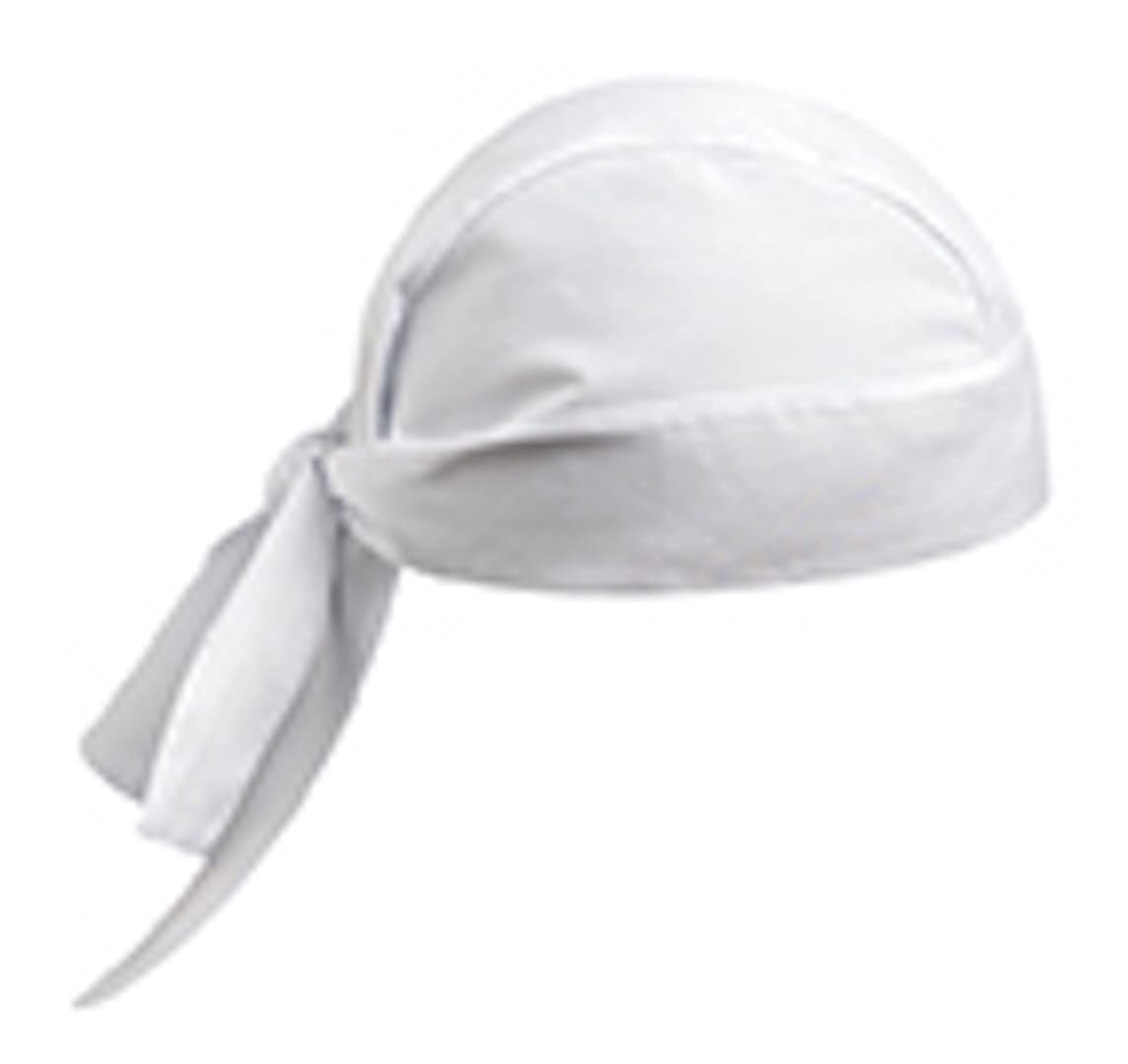 Egochef - Bandana Cuoco - White - 100% cotone