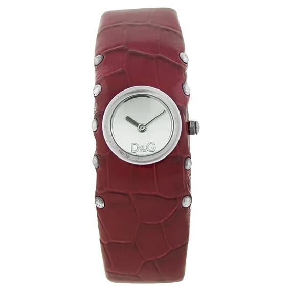 Dolce & Gabbana Reloj Analógico para Mujer de Cuarzo con Correa en Piel OCS20-S