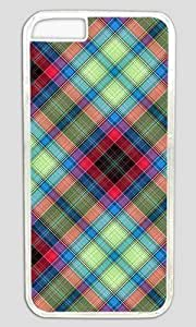 AQ Tartan Customized Hard Shell Transparent iphone 6 Case By Custom Service Your Great Choice