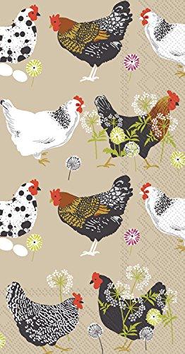 chicken paper napkins - 8