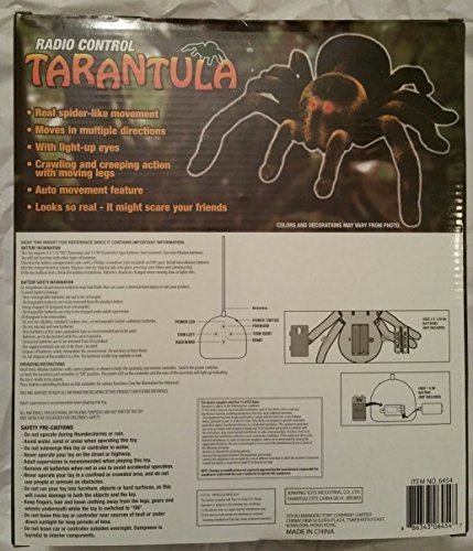 Toy2U Radio Control Tarantula