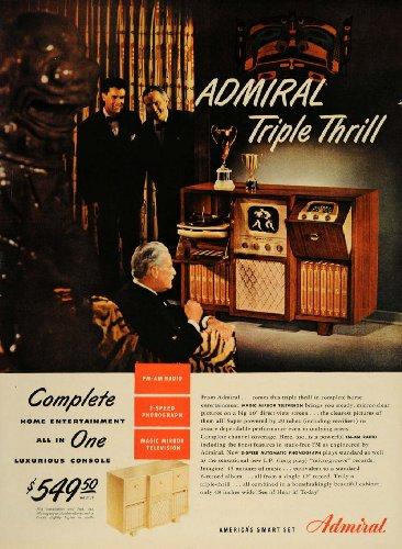 vintage admiral radio - 6