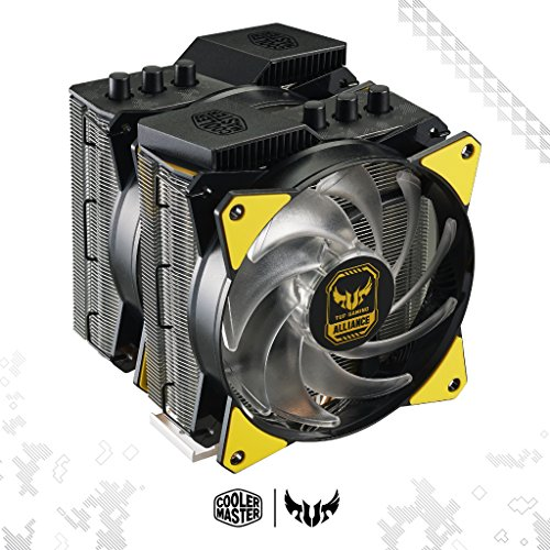Cooler Master MasterAir MA620P TUF Edition Dual-Tower RGB CPU Air Cooler 6 Heat pipes Dual Master Fan MF120R 120mm RGB Fans (MAP-D6PN-AFNPC-R1) by Cooler Master (Image #7)
