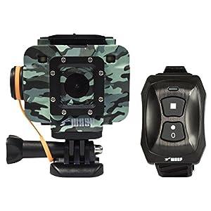 WASPcam Camo Edition 9906 Action-Sports Camera, Camo