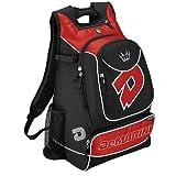 DeMarini Vexxum Backpack, Black/Scarlet